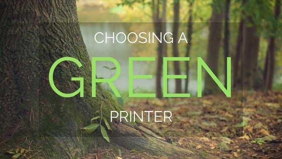 How to Choose a Green Printer