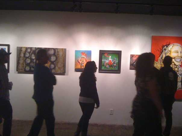 The Eyetorrent Art Space that showcased the work of brilliant local artists