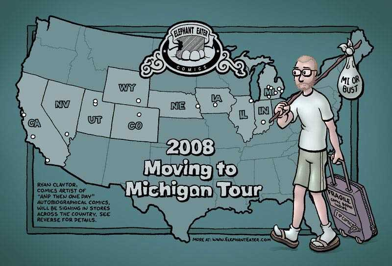 2008 Flyer for Ryans Book signing tour (printed at overnightprints.com)