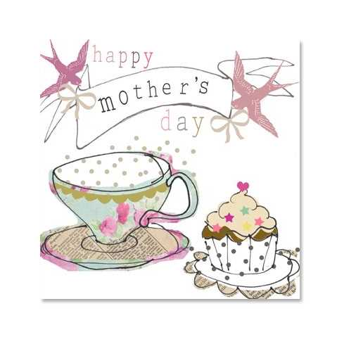Mother's favorite - Tea and Cakes!