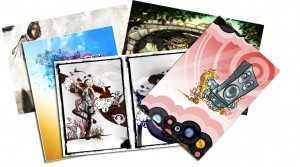 Art & Design on Postcards