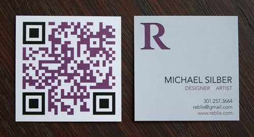 qr business card