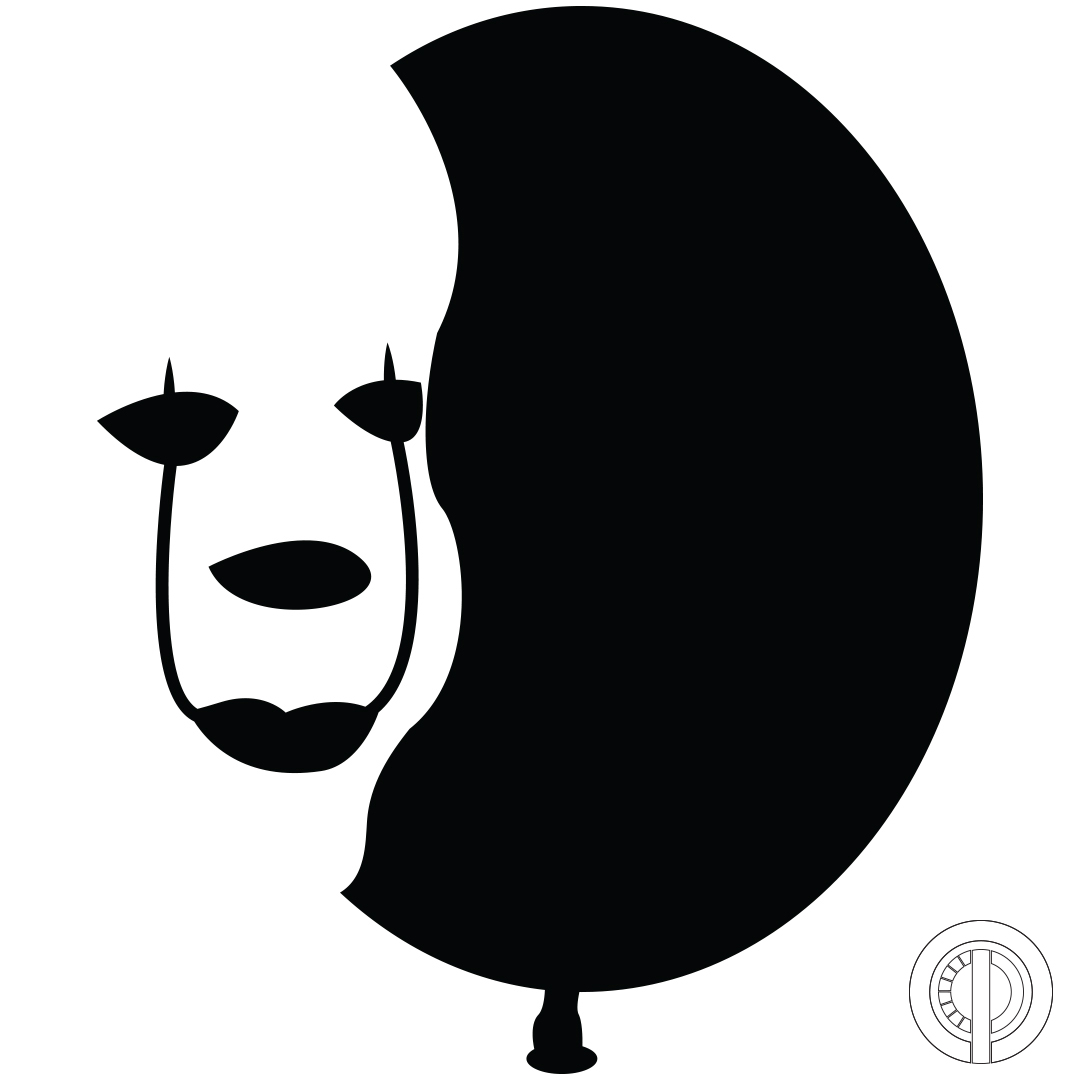 Clown Pumpkin Stencils Printable
