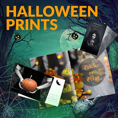 Halloween print products