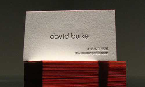 The Small Business Business Card – Simple & Elegant is better!