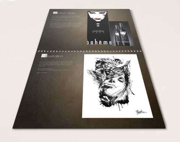 Create a design portfolio booklet at Overnight Prints