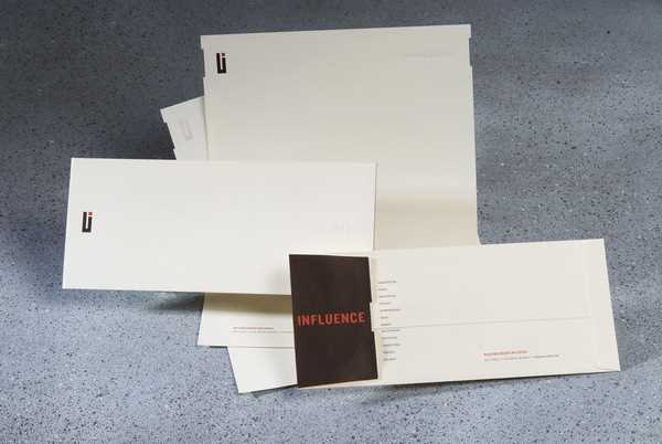 Brilliant minimalist design with heavyweight graphic impact from Urban Influence!