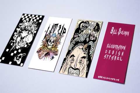 Portfolio cards