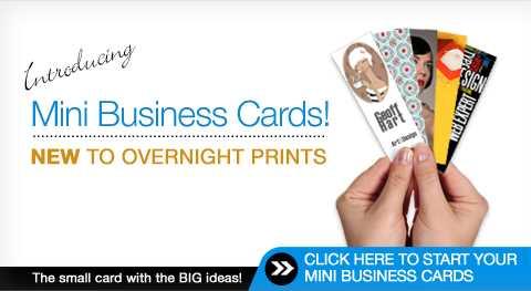 mini business cards - Mini Business Cards