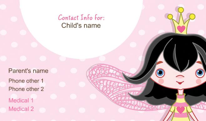 fairy_princess_business_card