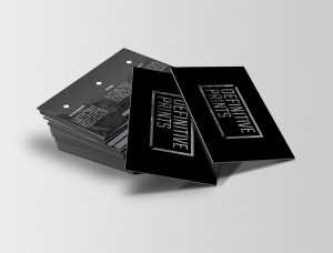 statement business cards