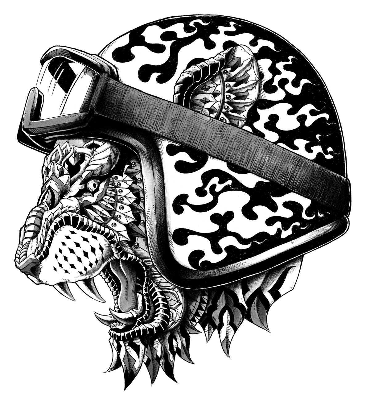 helm tigers eye repeat - 738×800