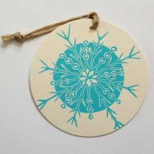 Snowflake-coaster