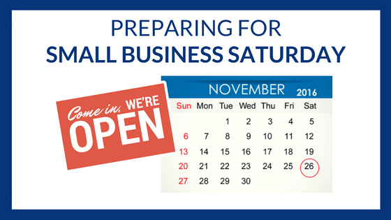 Ways to Prepare for Small Business Saturday