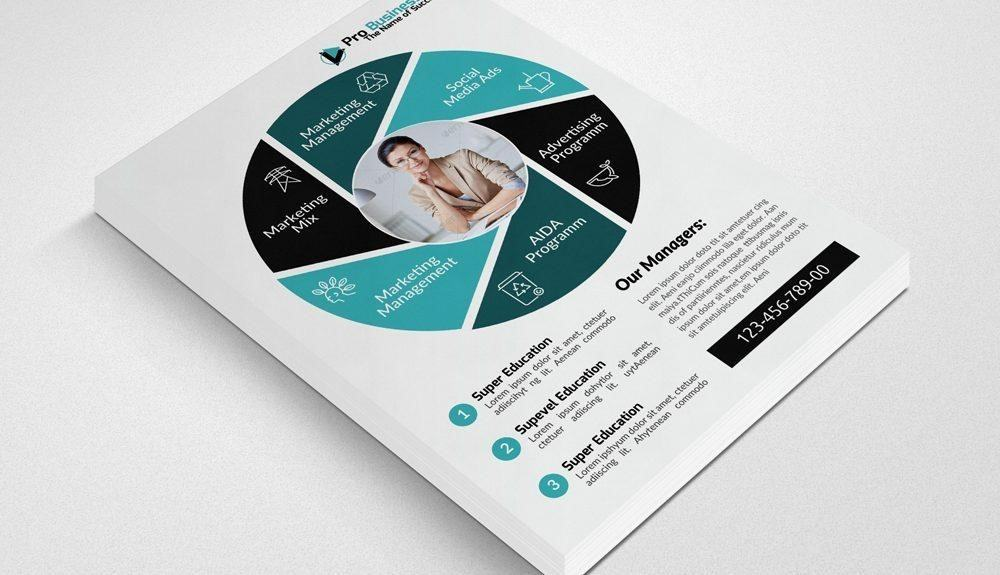 Generic business flyer