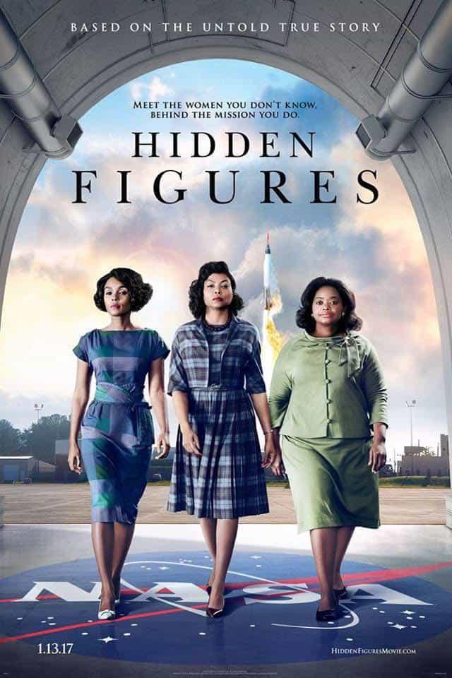 Hidden Figures 2016 movie poster