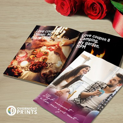 Valentine's love coupon booklet