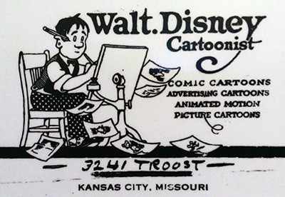 Your business card is your trademark overnightprints blog walt disney business card colourmoves