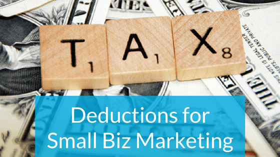 Small Biz Tax Deductions