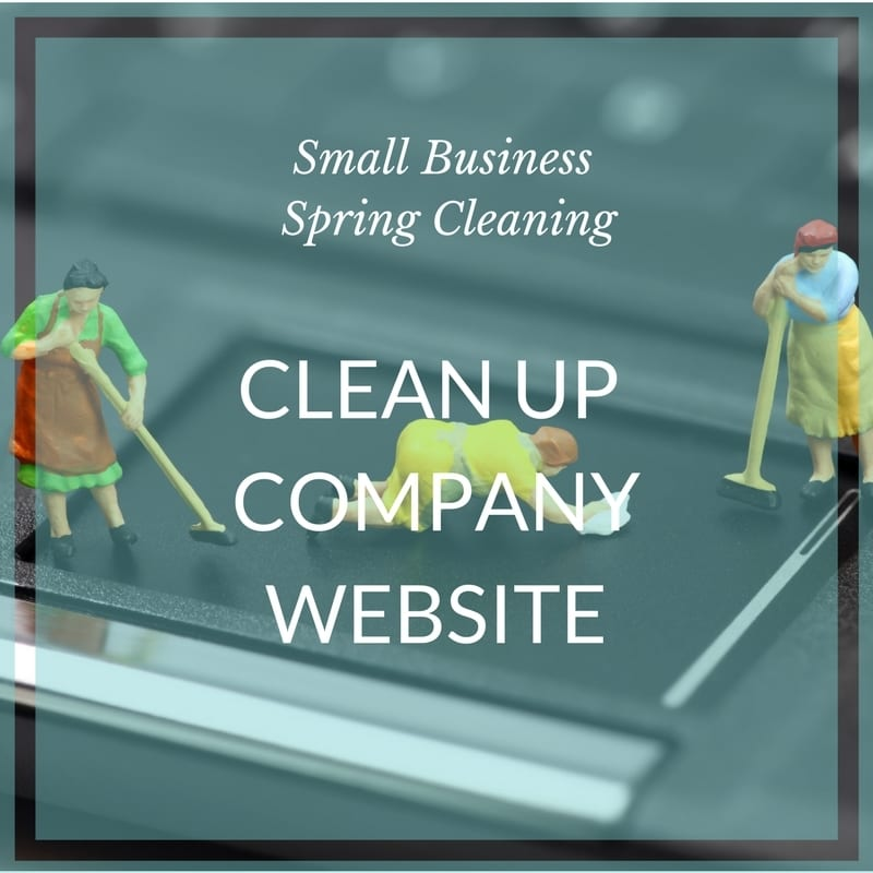 Small biz spring clean website maintenance
