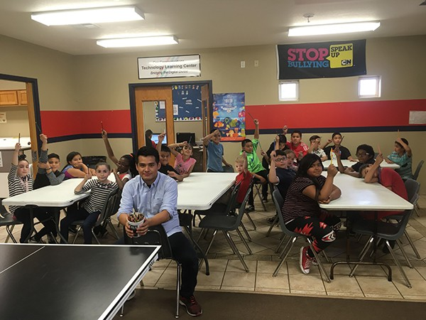 Montandon Boys and Girls Club young writers