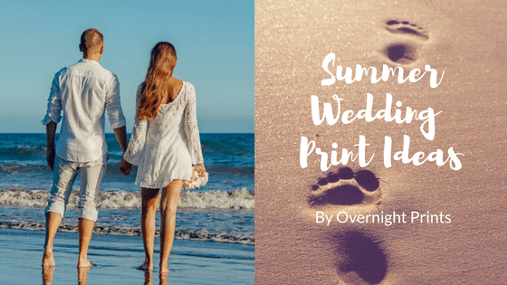 Cheap Print Ideas for an Easy, Breezy Summer Wedding