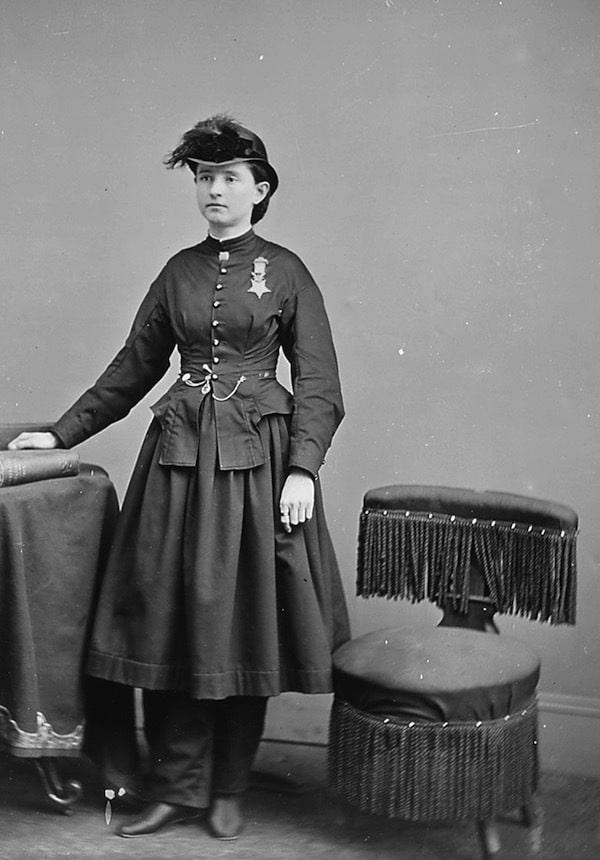 Mary Walker portrait