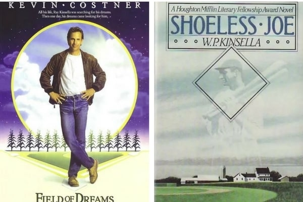 Field of Dreams-Shoeless Joe adaptation