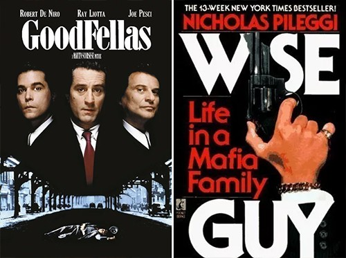 GoodFellas-Wiseguy adaptation