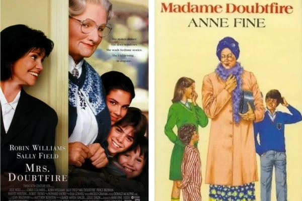 Mrs Doubtfire-Madame Doubtfire adaptation