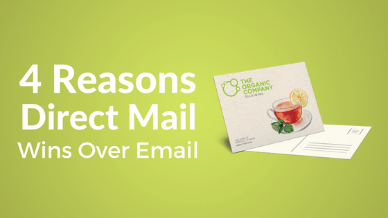 4 Reasons to Use Direct Mail Marketing