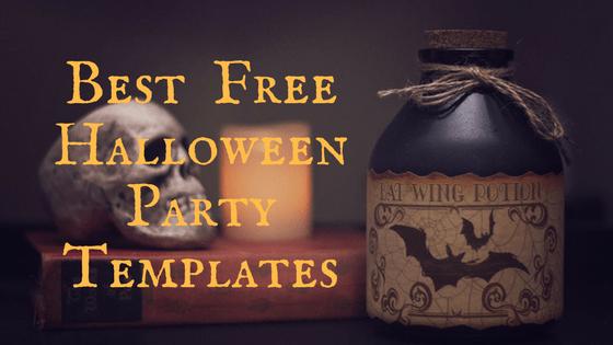 Best Halloween Party Invitation Templates