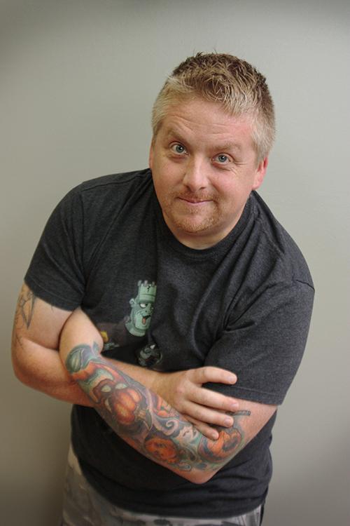 Comic artist Noel Saabye
