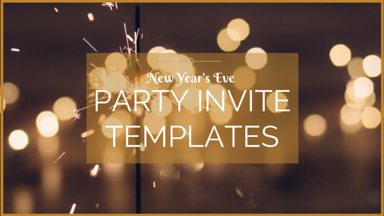 New Year's Eve Party Invitation Templates
