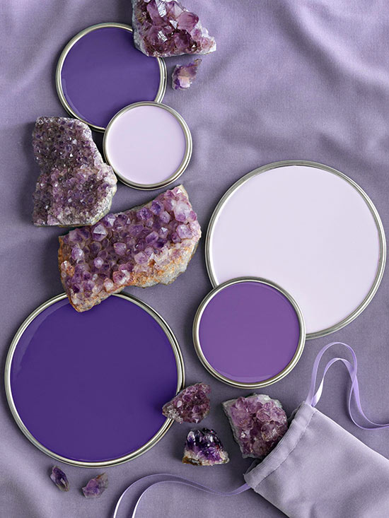 Violet paint colors