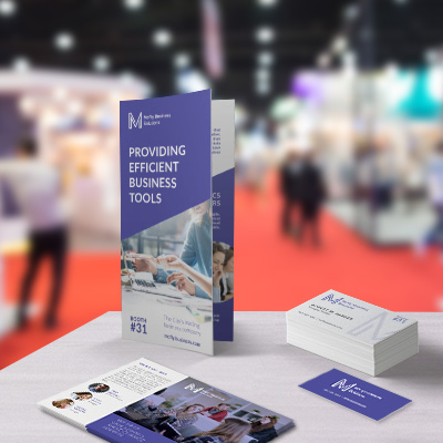 Trade show print marketing