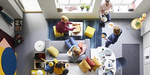 IKEA sofa ad