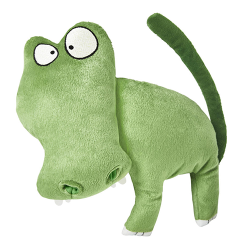 Sagoskatt hippo-crocodile plush toy