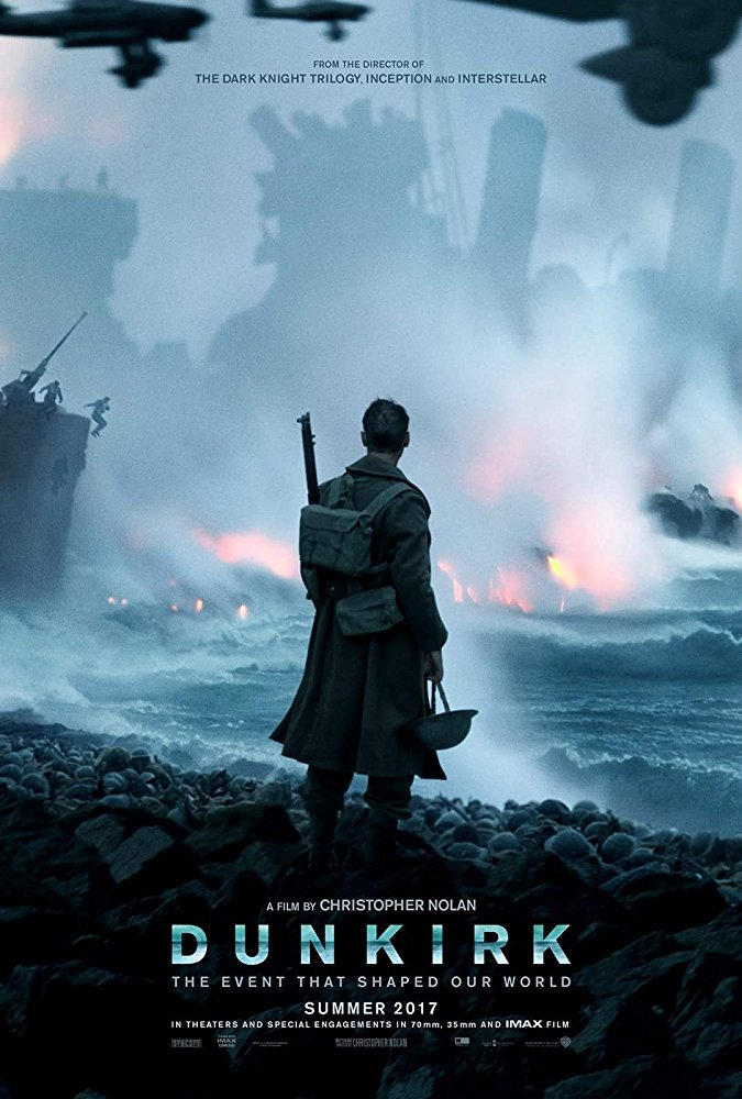 Dunkirk 2017 movie poster