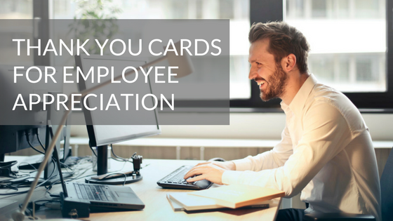 Free Templates for Corporate Thank You Cards: Employee Appreciation Day