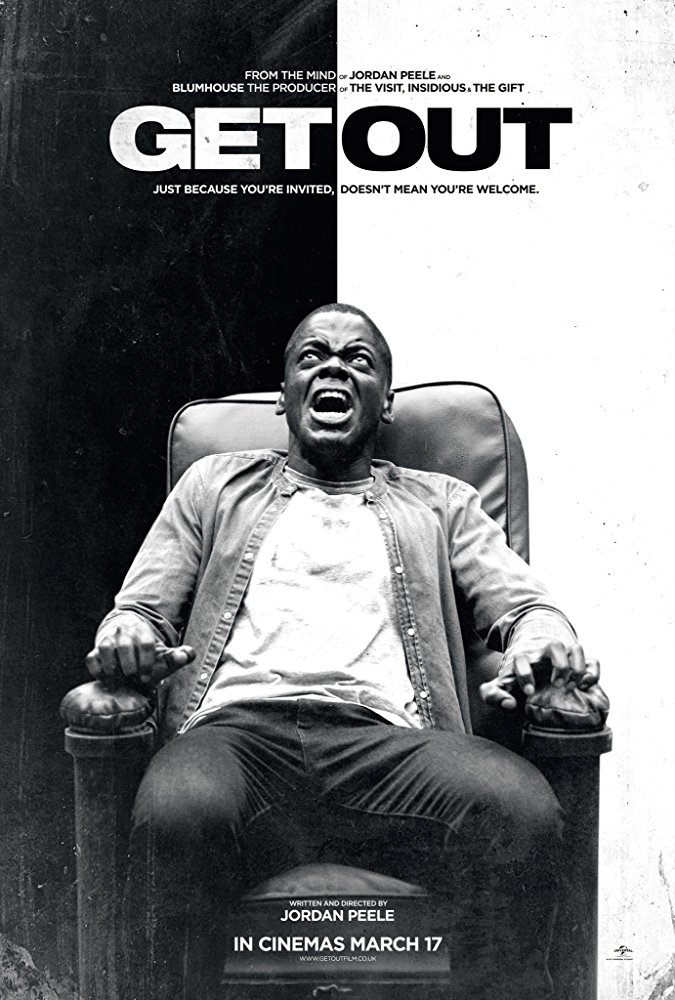 Get Out 2017 movie poster