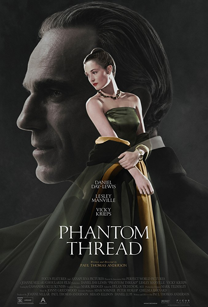 Phantom Thread 2017 movie poster