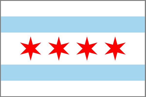 Chicago state flag