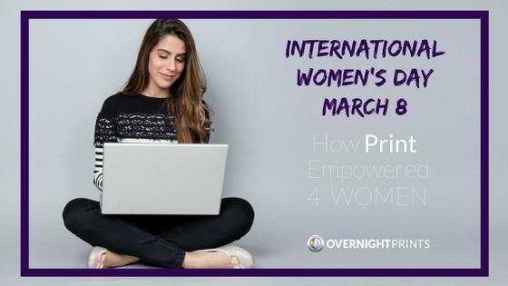 Ways Print Empowered 4 Women: International Women's Day