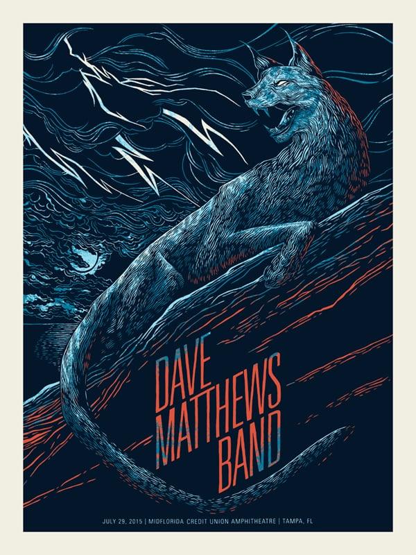 Dave Matthews Band - Tampa 2015 - MidFlorida Credit Union Amphitheater, Tampa, FL