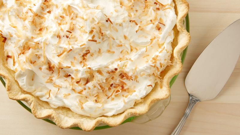 tasty coconut cream pie recipe from overnightprints