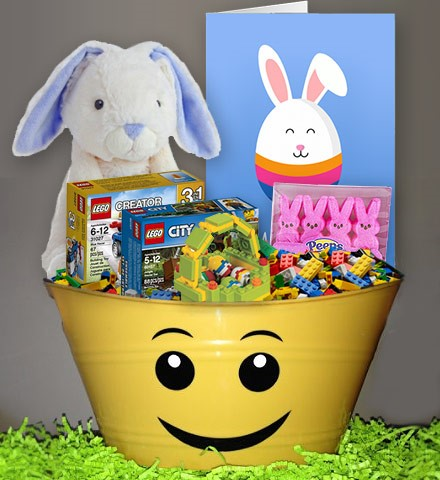 6 awesome diy ideas for custom easter baskets overnightprints blog the lego my basket personalized easter basket idea overnightprints share image on negle Choice Image