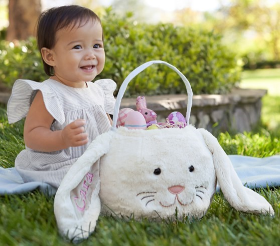 the omg its a bunny inside a bunny custom creative easter basket