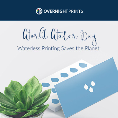 World Water Day - Waterless Printing Saves the Planet