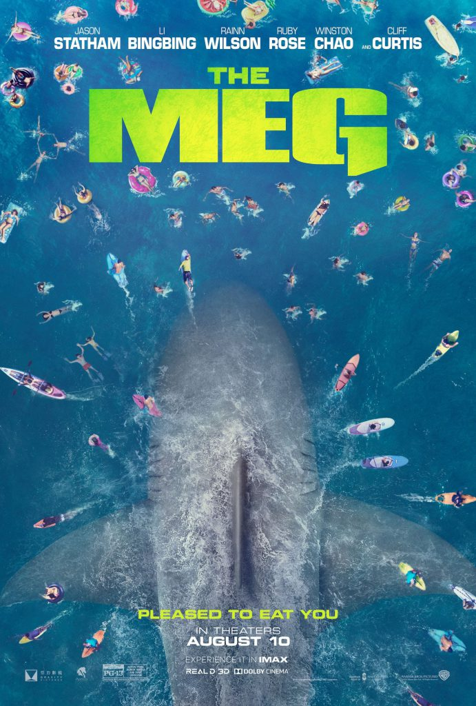 The Meg - large movie poster - HD 1080p - 4K - overnightprints